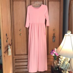 Dresses & Skirts - T Shirt Maxi Dress in Pink